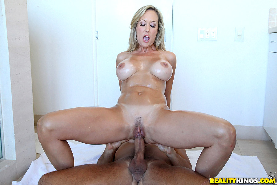 Huge Boobs Milf And Monstercock Boy